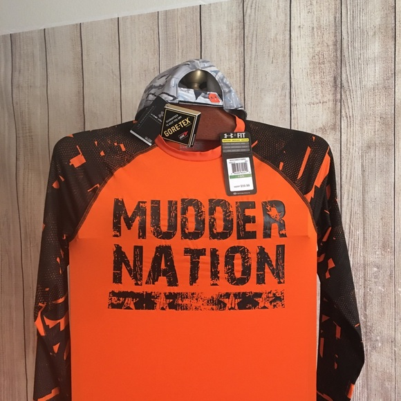 NWT Under Armour Men/'s UA HeatGear Tough Mudder Long Sleeve Compression Shirt